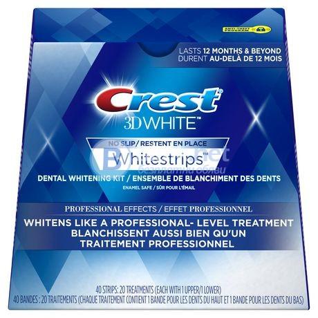 Избелващи ленти за зъби Crest Professional Effects