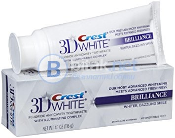 Паста за избелване на зъби  Crest 3D White Brilliance USA - KOZMETIKA.COM