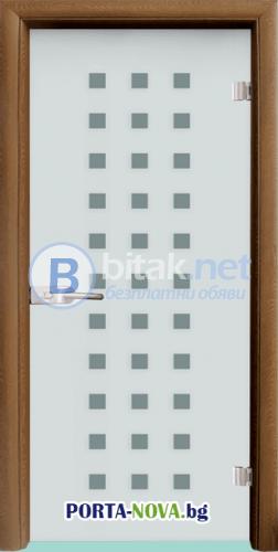 Стъклена интериорна врата, Sand G 14-4