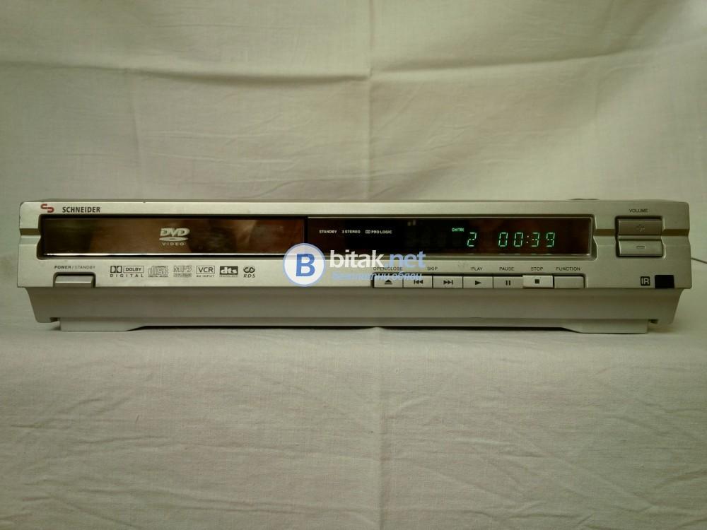 Schneider SHC-201 , DVD/CD/MP3 ресивър , 5.1 канален , тунер с RDS