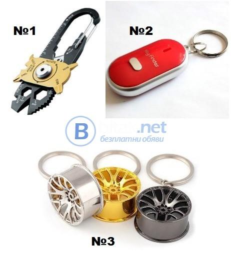 Ключодържатели –инструмент, забраван, джанти