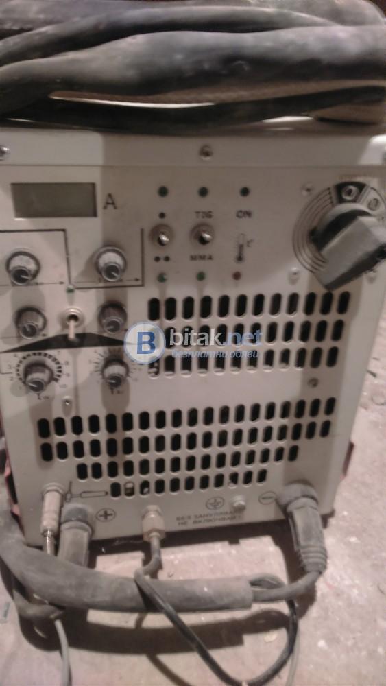 Заваръчна техника-Аргонов апарат,електрожен STRUNA DC TIG 160