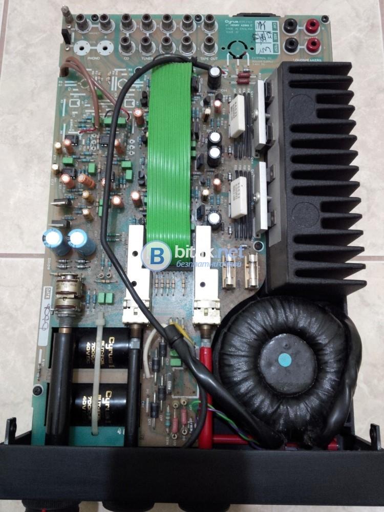 MISSION Cyrus ONE , английски аудиофилски усилвател , THD: 0.005% , 1Hz to 50kHz