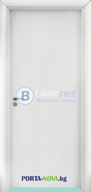 Интериорна HDF врата модел 030
