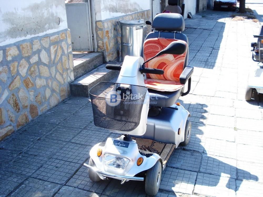 Продавам изгодно - електронна инвалидна количка