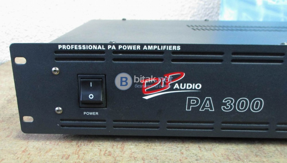 PIP AUDIO PA-300 – Профи стъпало,видимо неразличимо от ново.
