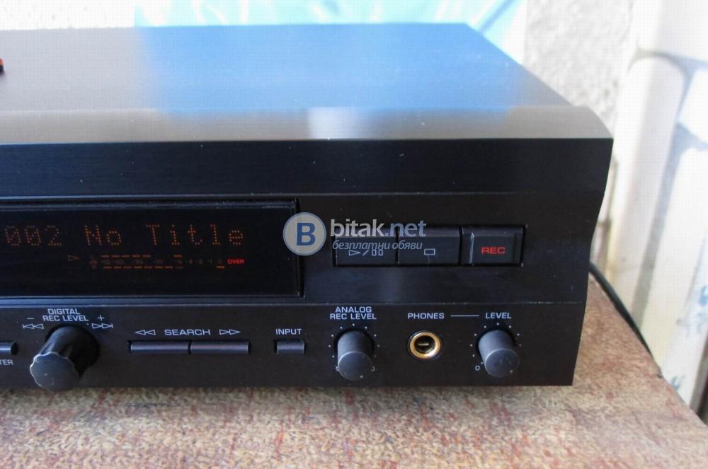 YAMAHA MDX-596 – Минидиск рекордер.