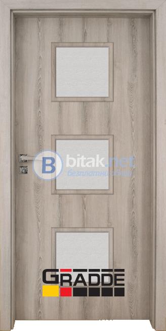 Интериорна врата Gradde Bergedorf, цвят Шведски дъб