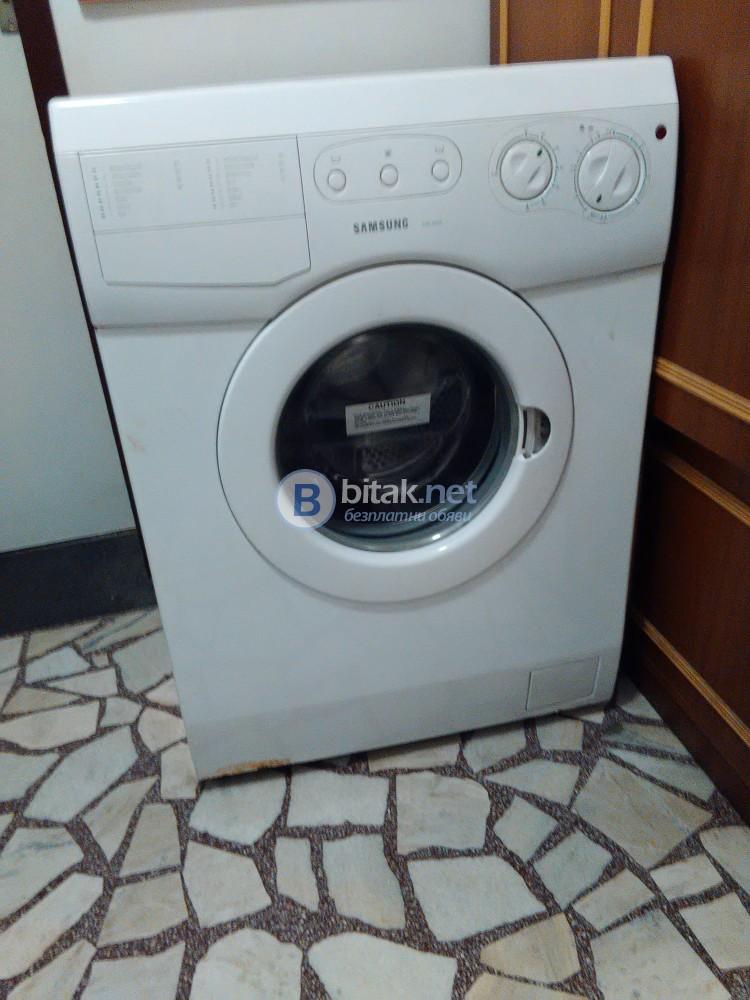 Продавам автоматична пералня Самсунг