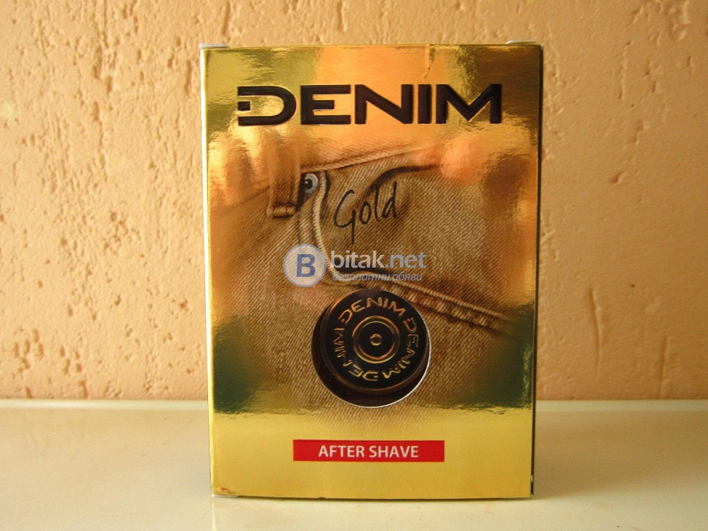 одеколон DENIM Деним Gold After Shave 100ml. EDC