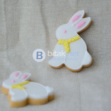 Форми за великденски сладки заек резци за курабии бисквити фондан 3 размера