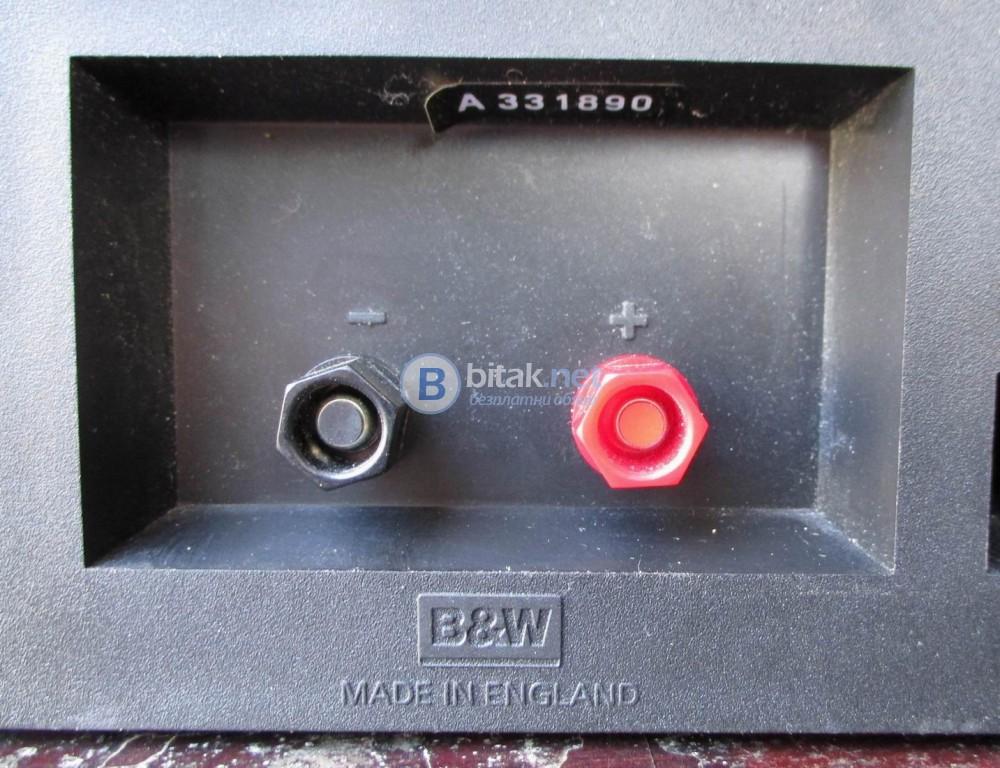 B&W DM-302 – Английски качествени букшелф колони.