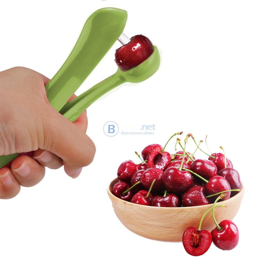 Ръчен кухненски уред за вадене на костилки от череши маслини вишни