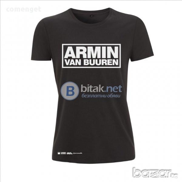 ПРОМО ЦЕНА! Музикални МЪЖКИ и ДАМСКИ тениски с ARMIN VAN BUUREN принт! Поръчай модел С ТВОЯ ИДЕЯ!