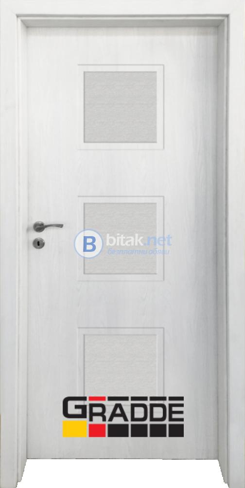 Интериорна врата Gradde Bergedorf, цвят Сибирска Лиственица