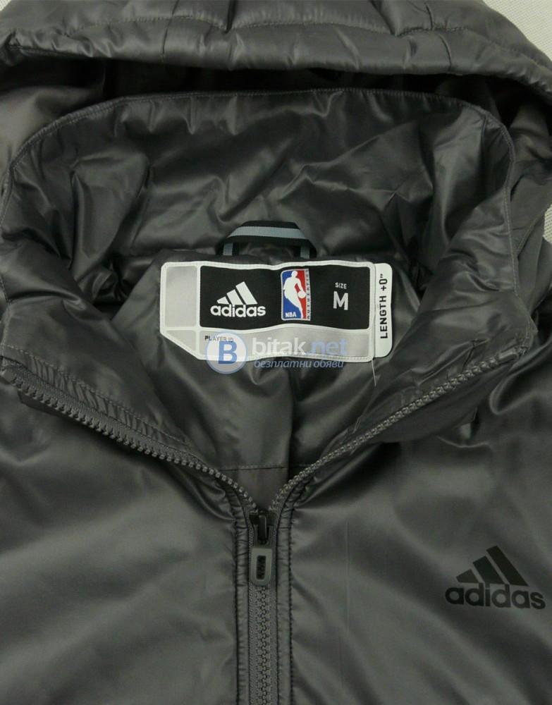 ADIDAS NBA Jacket Grey МЪЖКО ЗИМНО ЯКЕ