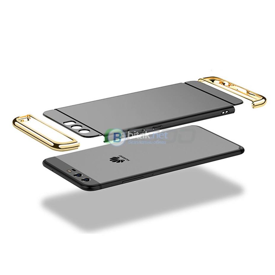 Калъф кейс гръб за Huawei P10 Plus + 2 скрийн протектора