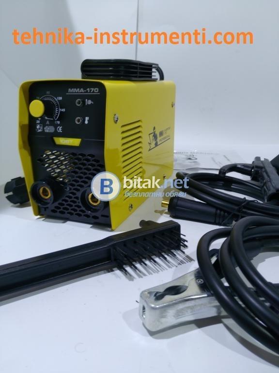 Инверторен електрожен ММА 170