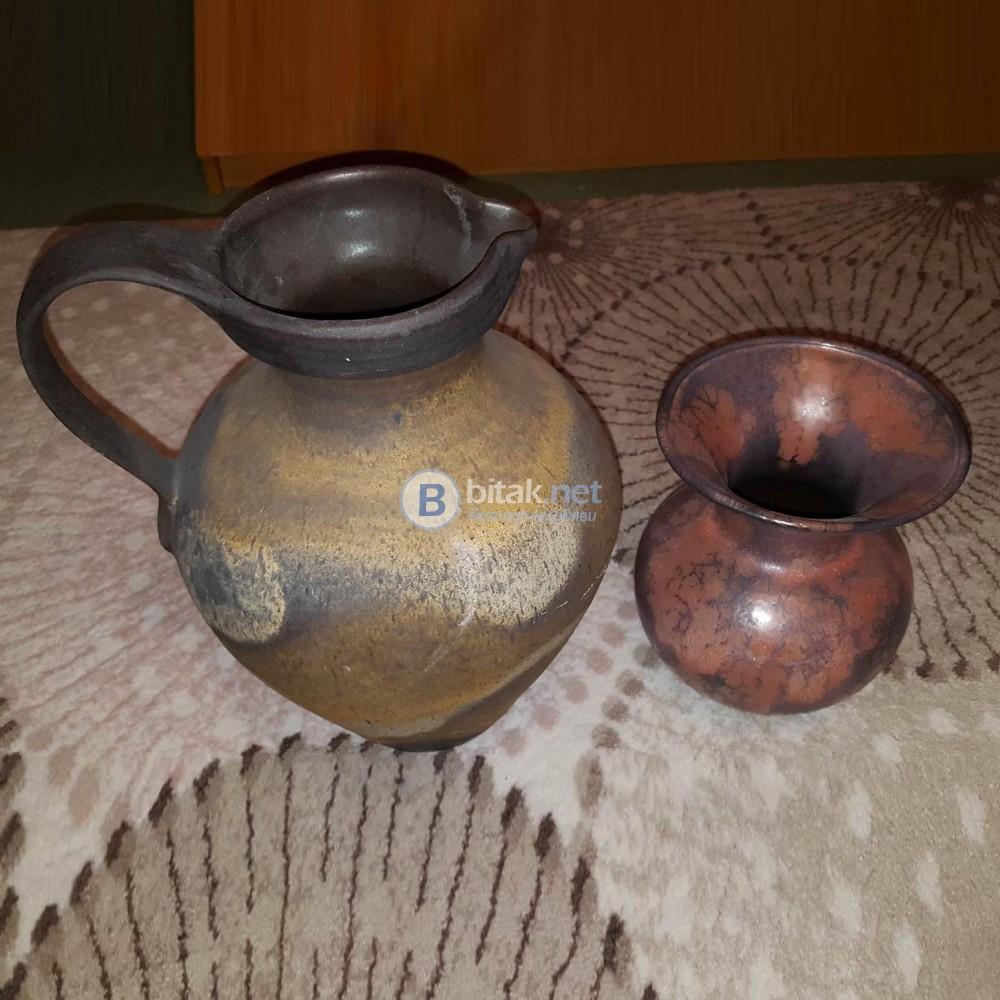 Керамични декоративни вази с изкуствени цветя декорация за дом градина