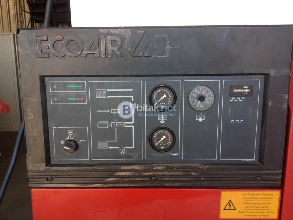 Винтов компресор  марка : Ecoair модел  : D 31  22KW