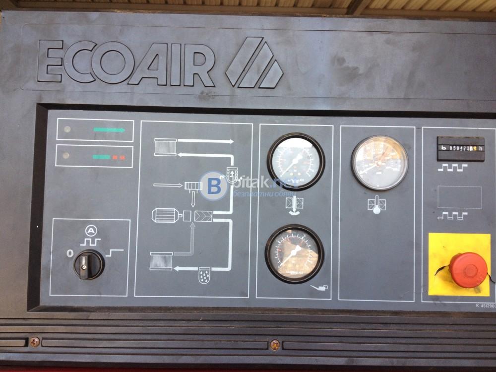 Винтов компресор марка Ecoair D 100 75 KW