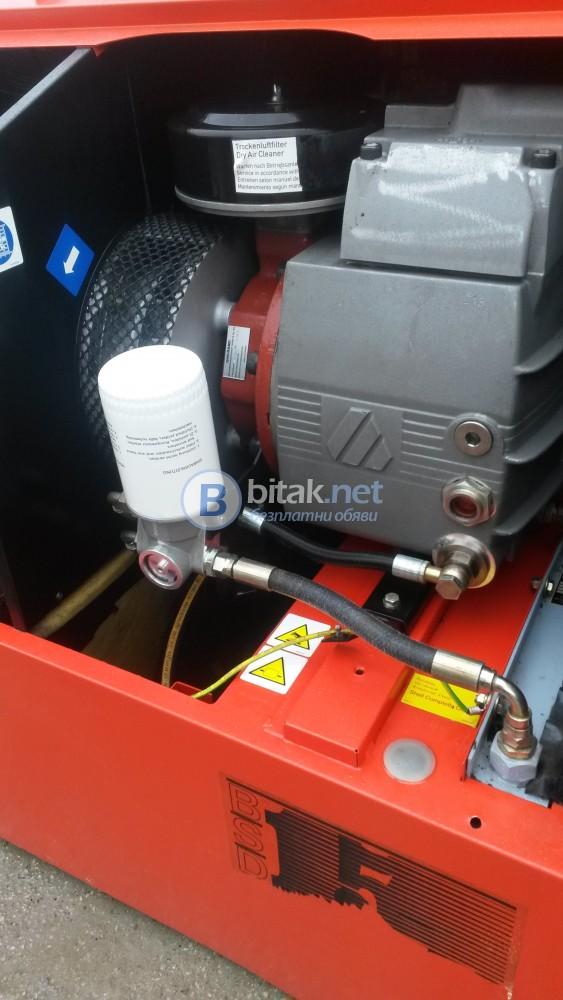 Винтов компресор Берко Type : Bsd 15