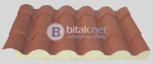 Покривен термопанел тип керемида