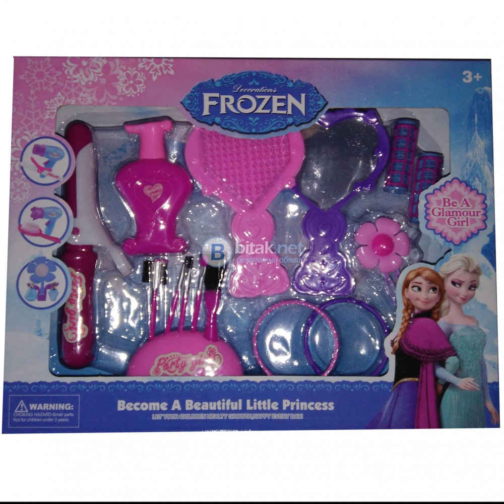 Детски игрален комплект фризьорски инструменти играчки за момичета