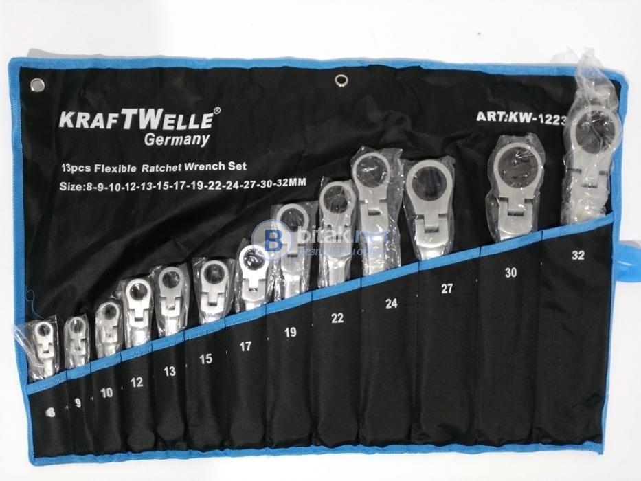 Звездогаечни Чупещи Тресчотни Ключове Kraftwelle 13