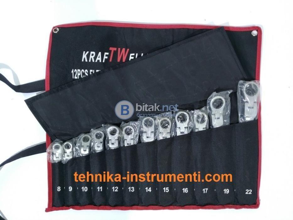 Звездогаечни Чупещи Тресчотни Ключове Kraftwelle 12