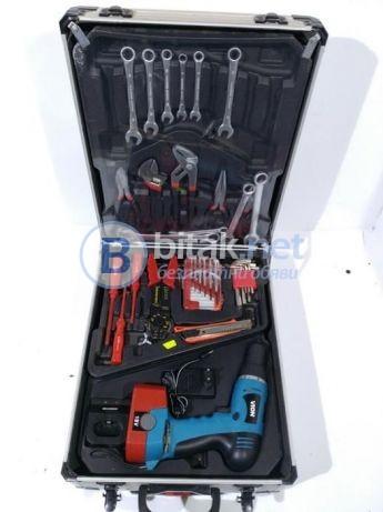 Куфар С Ръчни Инструменти 187 Части