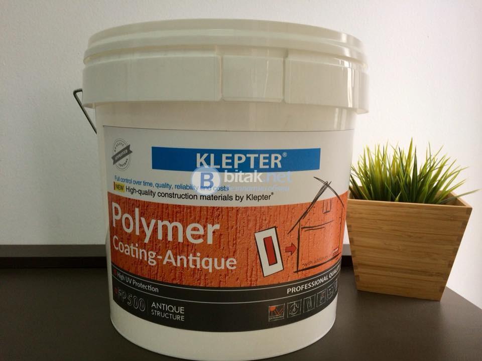 KLEPTER  полимерни мазилки от НОВО поколение