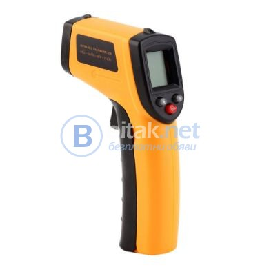 Лазарен безконтактен IR термометър GM 320