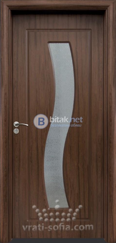 Интериорна HDF врата с код 066