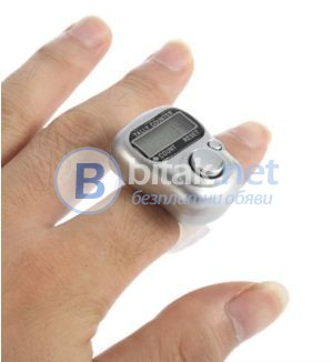 Електронен брояч с дисплей