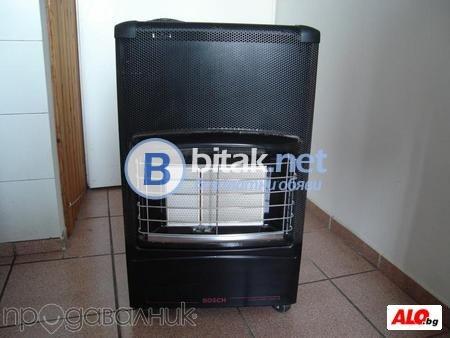 Газова отоплителна печка БОШ втора употреба - 1 год гаранция