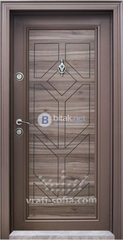Блиндирана входна врата код T686 Спарта