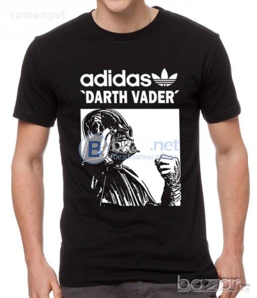НОВО! Мъжки тениски и блузи STAR WARS ADIDAS АДИДАС Darth Vader реплика!
