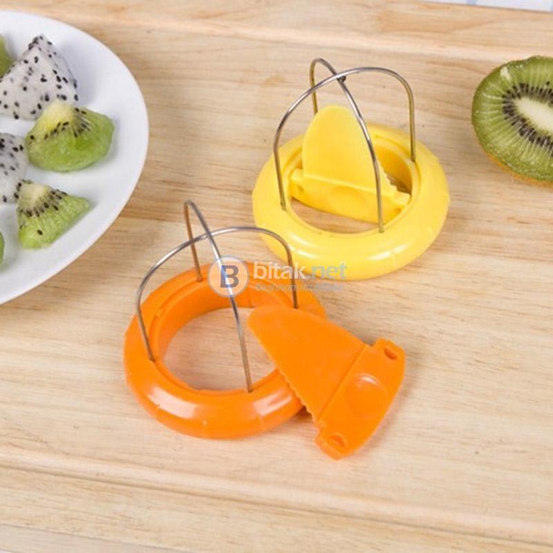 Белачка и резачка за киви 2в1 Кухненски ръчен уред за белене на киви