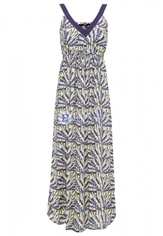 Лятна цветна рокля LTB