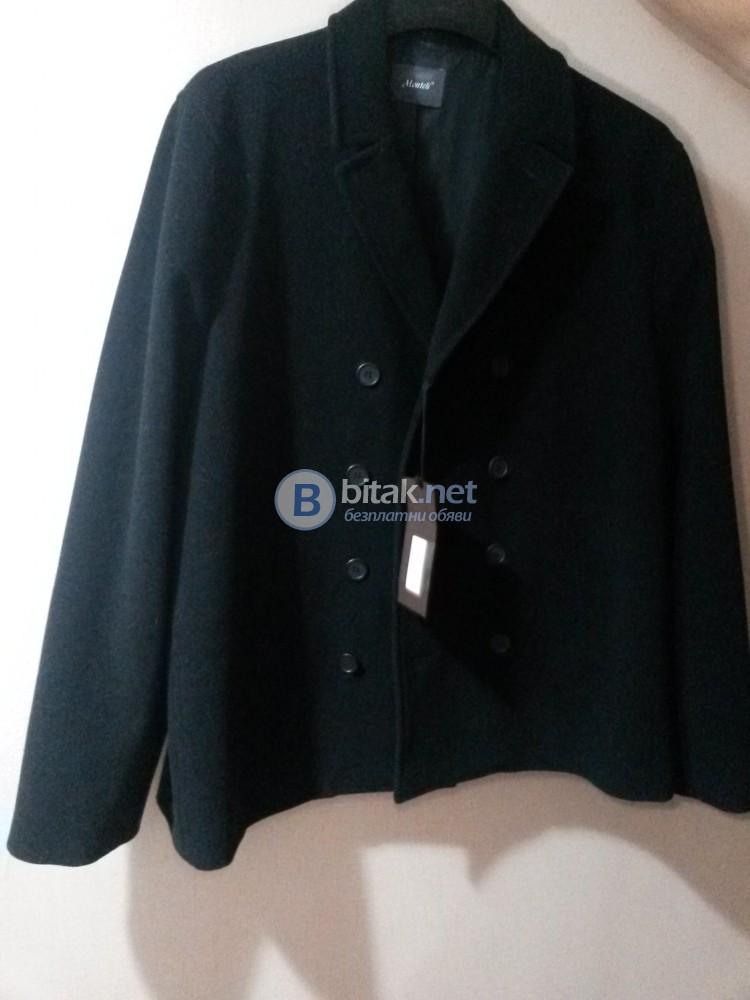 -50% чисто ново мъжко палто Монтели/Monteli Exclusive 2XL(56)