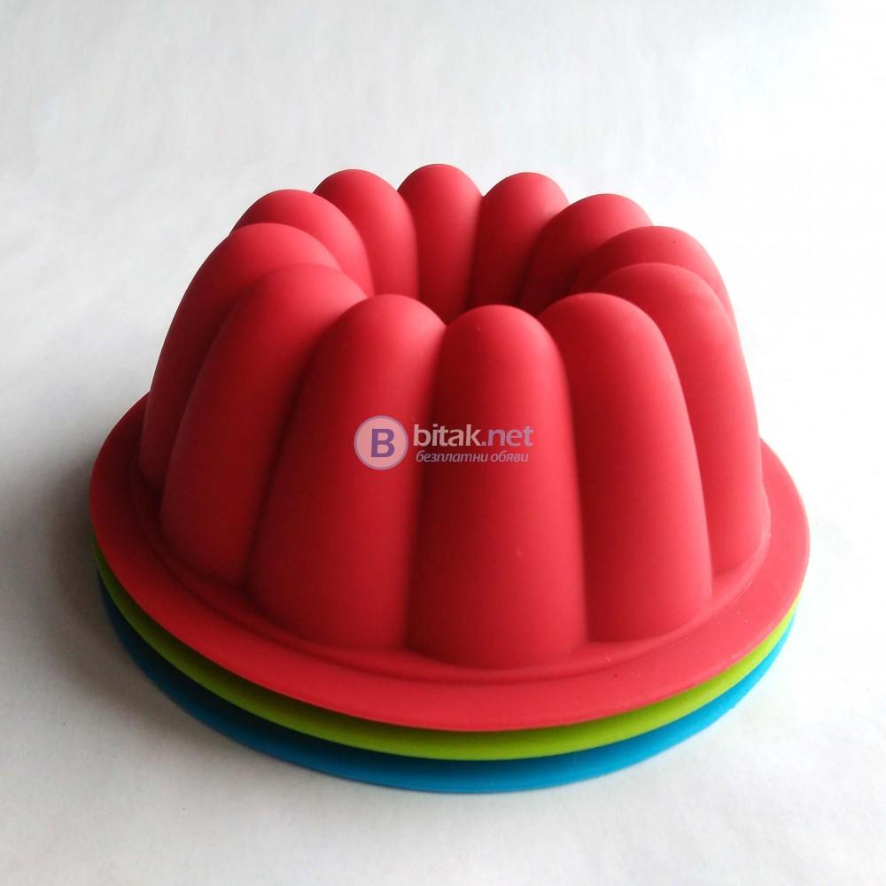 Силиконова форма за мини кексчета форми печене за сладки мъфини