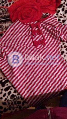 Дамска тениска с панделка