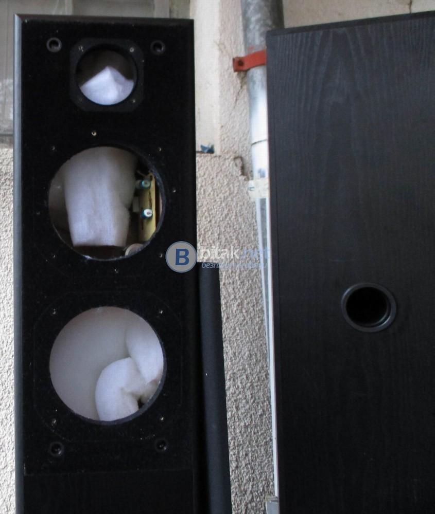 Iq MAX 2 – Боксове от подови тонколони,подходящи за DIY проект.