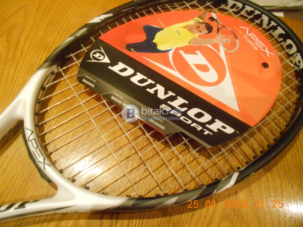 Нова тенис ракета Dunlop