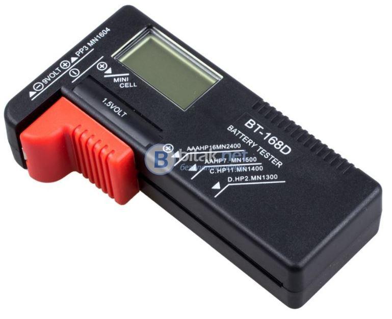 Батериен тестер BT-168