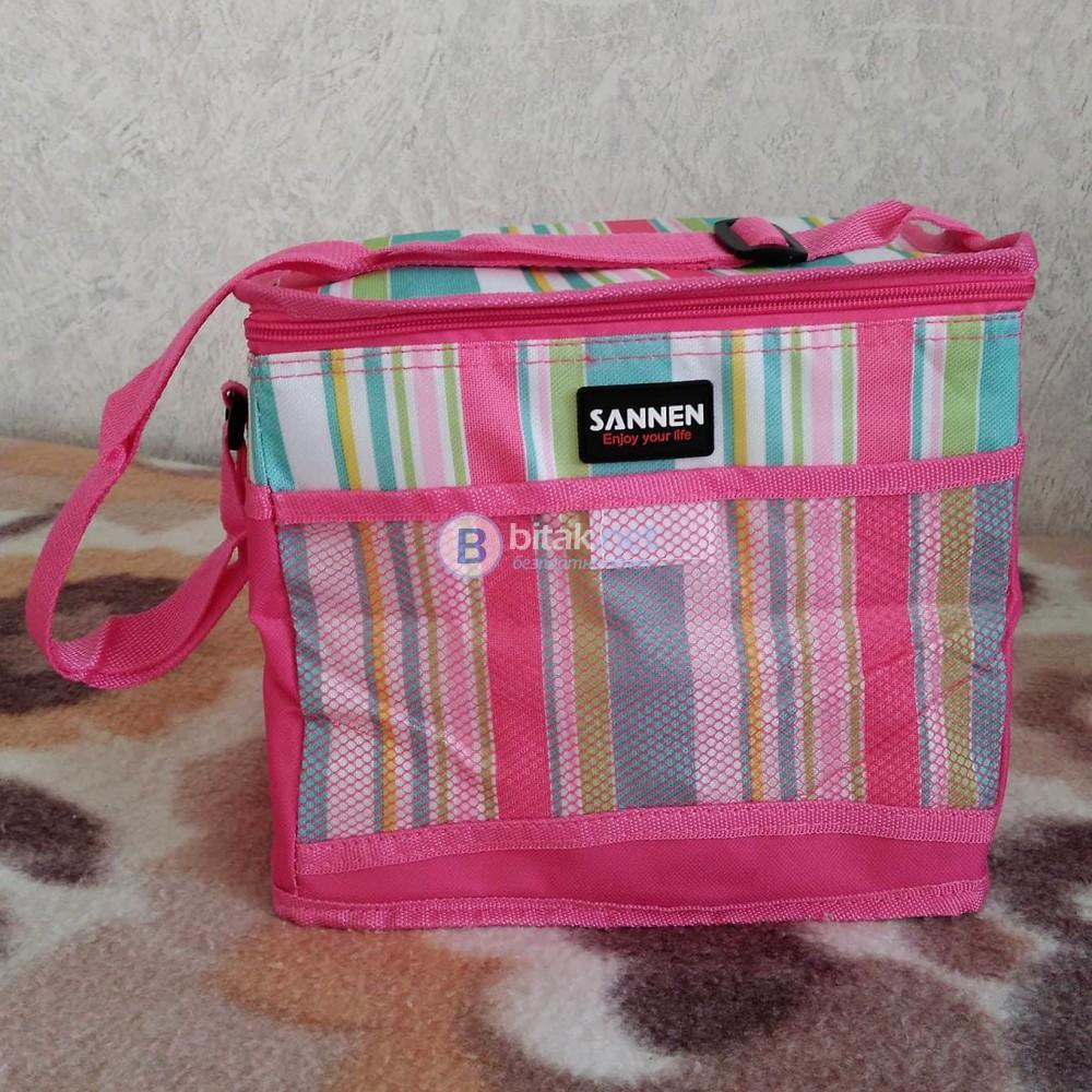Термо чанта за плаж пикник къмпинг хладилна чанта за храна и напитки