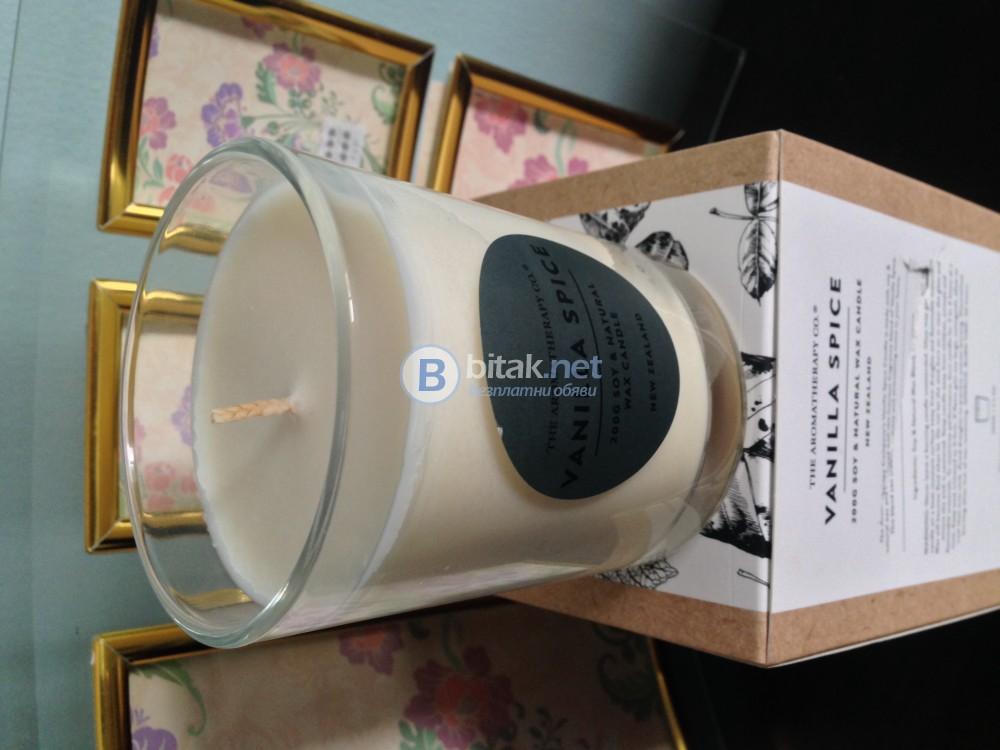 Луксозни ароматни свещи