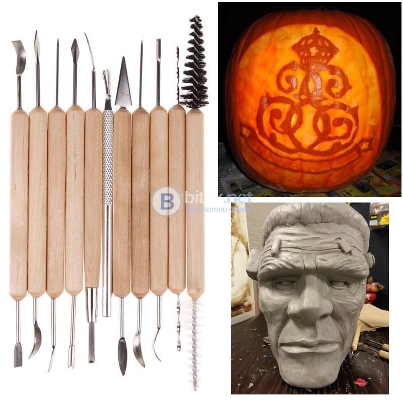 Нов Комплект карвинг инструменти резци за декорация дърворезба длета