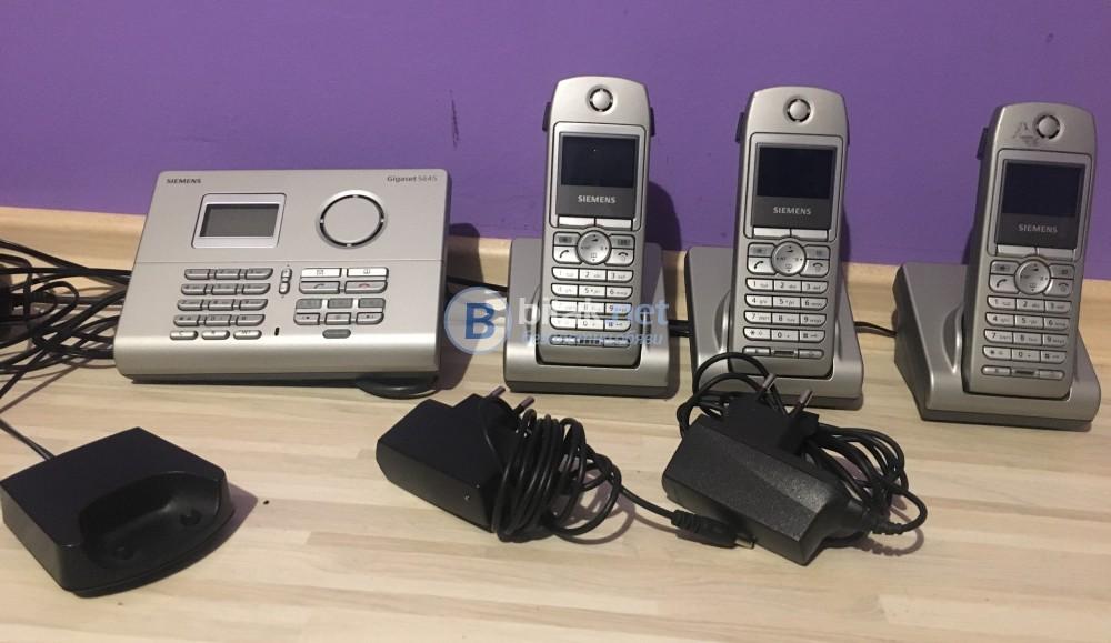 Стари телефони Siemens ретро декорация за дома